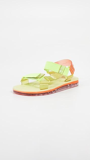 f4c2b9f89a021 Melissa Papete + Rider Sandals