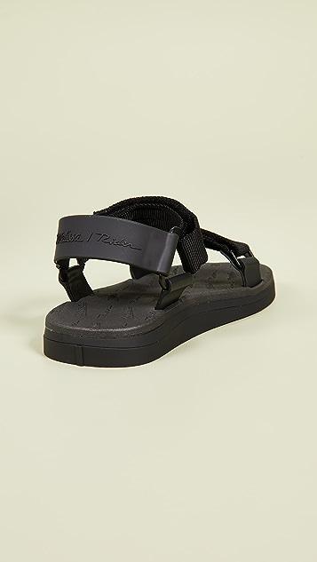 Melissa x Rider Papete Sandals