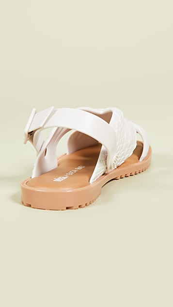 Melissa Sauce x Baja East Sandals