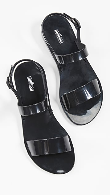 Melissa Lip Ad Sandals