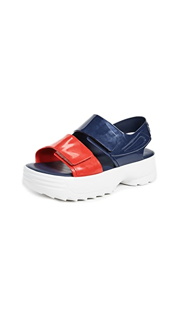 Melissa x Fila 凉鞋