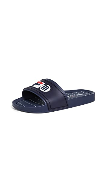 Melissa x Fila Slide Sandals