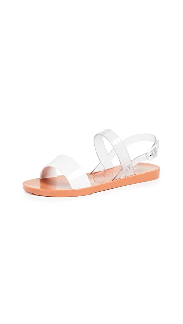 Melissa Lip Ad Sandals