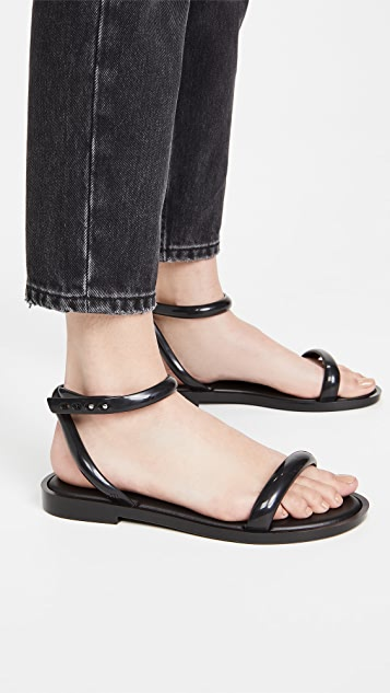 Melissa 波纹凉鞋