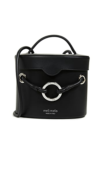 meli melo Nancy Structured Bucket Bag