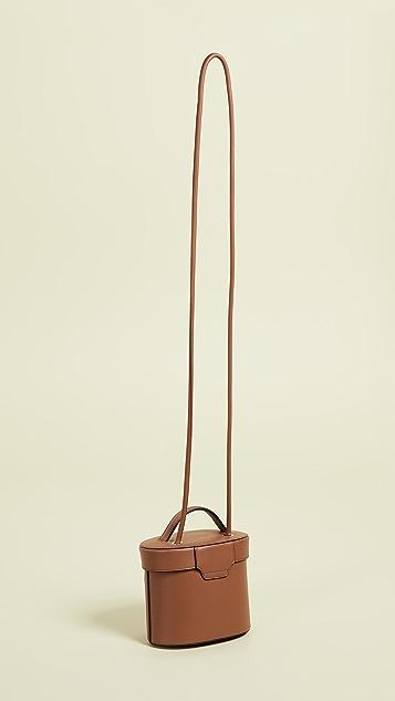 meli melo Структурированная сумка-ведро Nancy