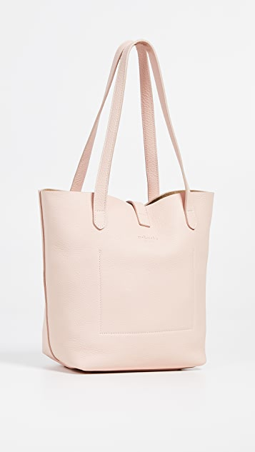 meli melo Объемная сумка-шоппер с короткими ручками Thela среднего размера