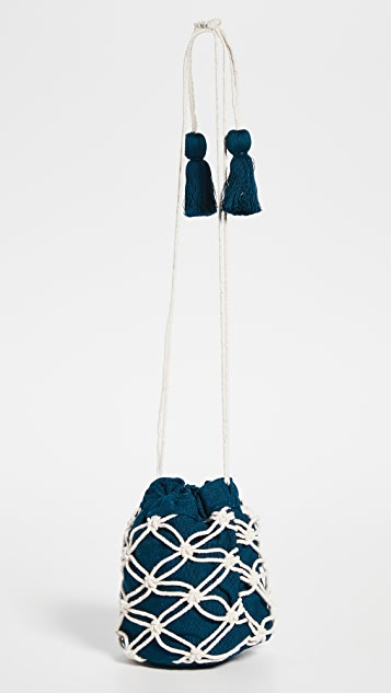 Mercado Global Hermelinda Macrame Bag