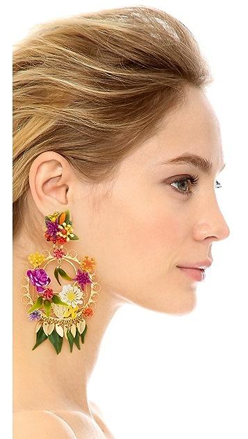 Mercedes Salazar Mora Mora Clip On Earrings