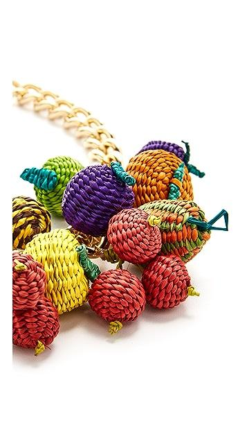 Mercedes Salazar Tuti Fruti Chain Necklace