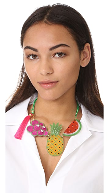 Mercedes Salazar Tuti Fruti Necklace