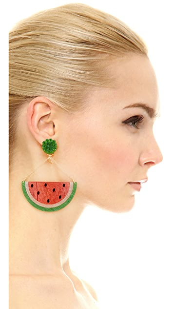 Mercedes Salazar Patilla Clip On Earrings