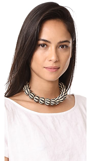 Mercedes Salazar Perla Choker Necklace