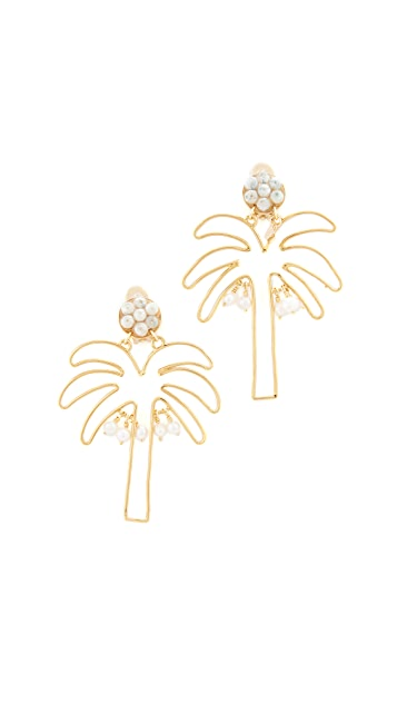 Mercedes Salazar Palmerita Earrings