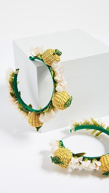 Mercedes Salazar Серьги-кольца Lemon