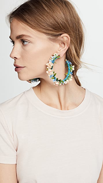 Mercedes Salazar Summer Breeze Hoop Earrings
