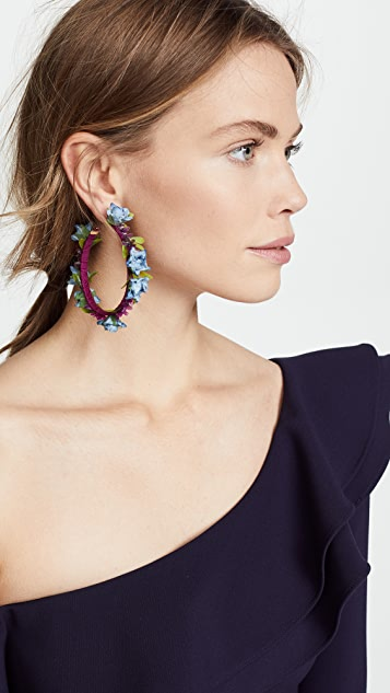 Mercedes Salazar Sunset Dreams Hoop Earrings