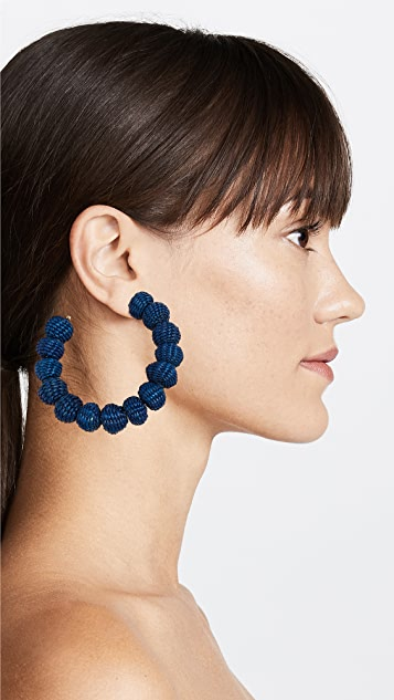 Mercedes Salazar Moonlight Hoop Earrings