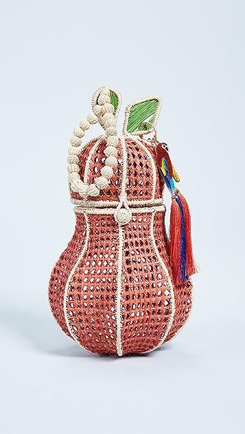 Mercedes Salazar Pera Tropical Bag