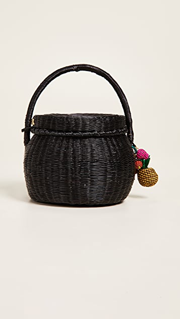 Mercedes Salazar Canasto Universo Honey Pot Bag