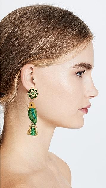 Mercedes Salazar Periquito de Santa Marta Earrings