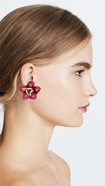 Mercedes Salazar Dioscorea Earrings