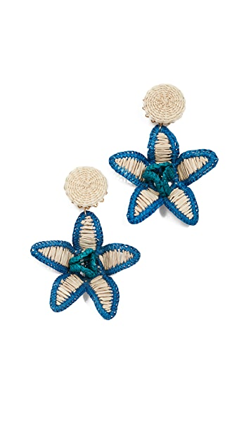 Mercedes Salazar Flower Earrings
