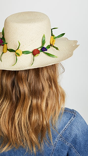 Mercedes Salazar Tutti Frutti Hat