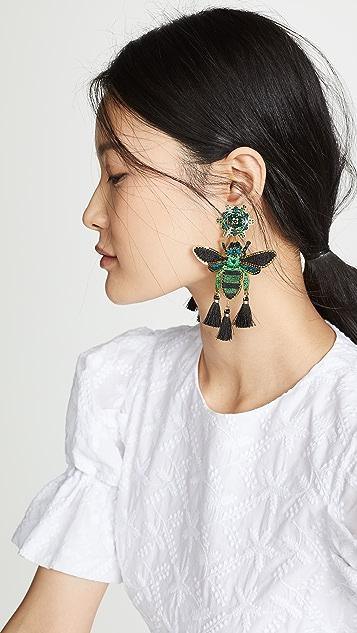 Mercedes Salazar Tropics Butterfly Earrings