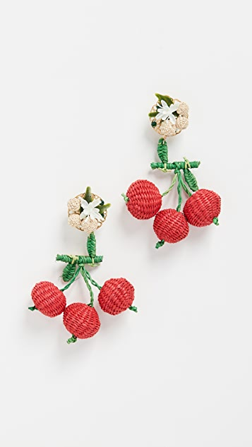 Mercedes Salazar Cherry Cultured Pearl Earrings