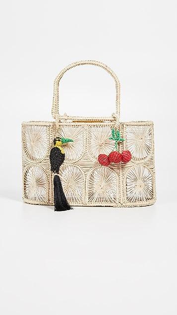 Mercedes Salazar 梭织手提袋