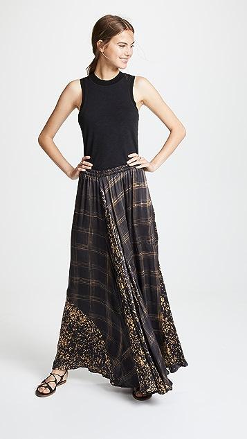 Mes Demoiselles Printed Gaite Skirt