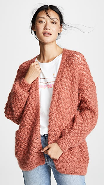 Mes Demoiselles Snow White Knitted Cardigan
