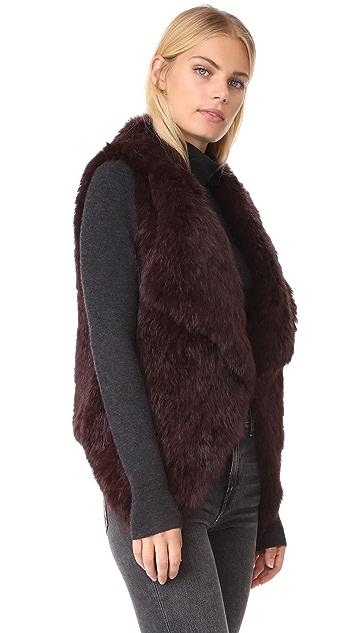 YVES SALOMON - METEO Lapin Vest