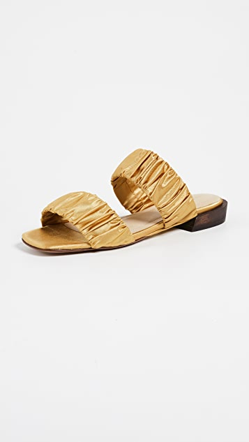 Mari Giudicelli Asami Sandals - Mostarda