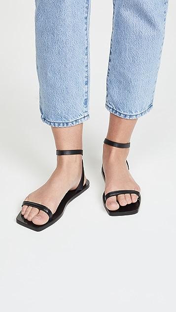 Mari Giudicelli Valencia Flat Sandals