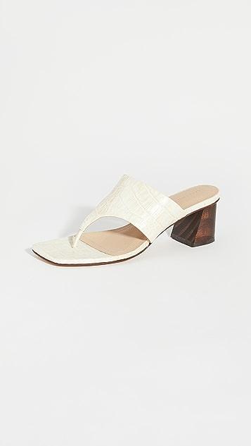 Mari Giudicelli Copa 凉鞋