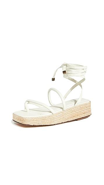 Mari Giudicelli Mica Platform Sandals
