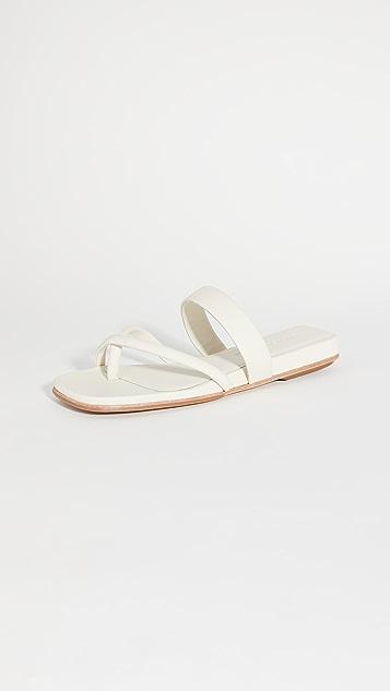 Mari Giudicelli 旅行风格凉鞋