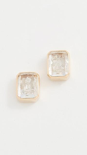 Moritz Glik Esmeralda Diamond Studs