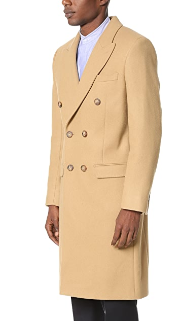 Editions M.R. Double Breasted Overcoat