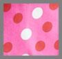 Pink/Red/White Polka Dot