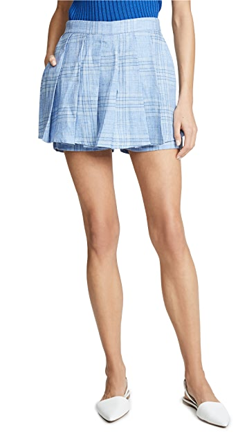 Maggie Marilyn Say You'll Never Let me Go Blue Skort