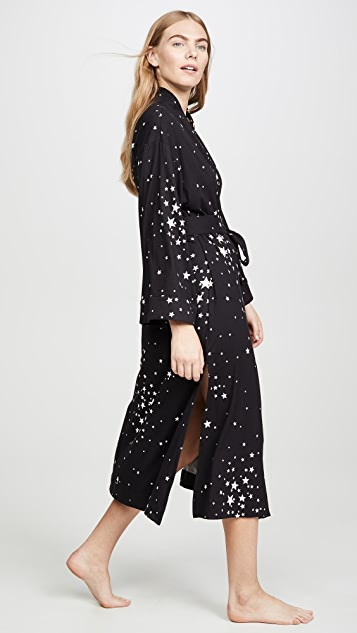 Mason Grey Black Stars Kimono