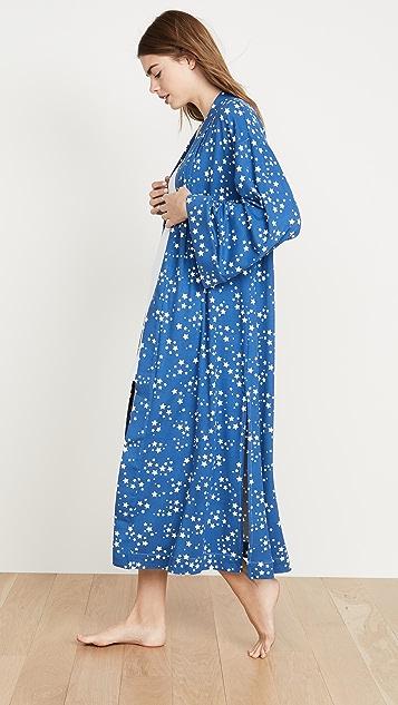 каменно-серый Кимоно Blue Star