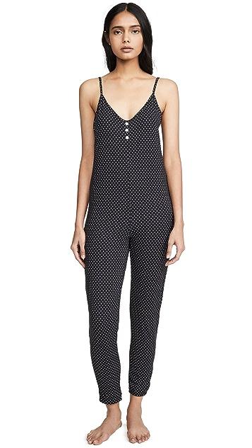 Mason Grey Black Dotty Jumpsuit