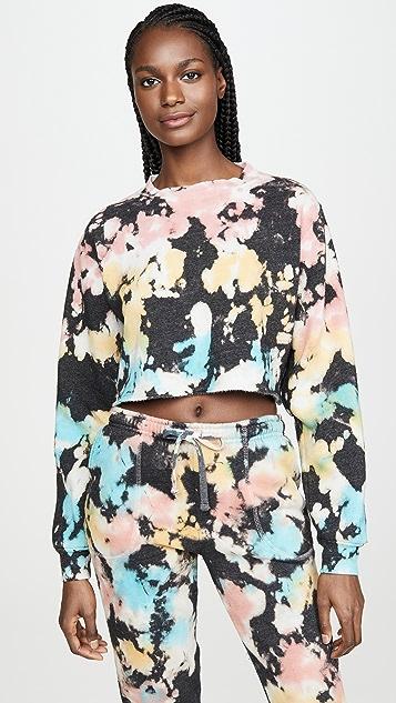 Mason Grey Chloe Crop Sweatshirt