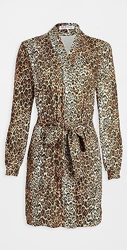 Mason Grey - Banded Short Robe