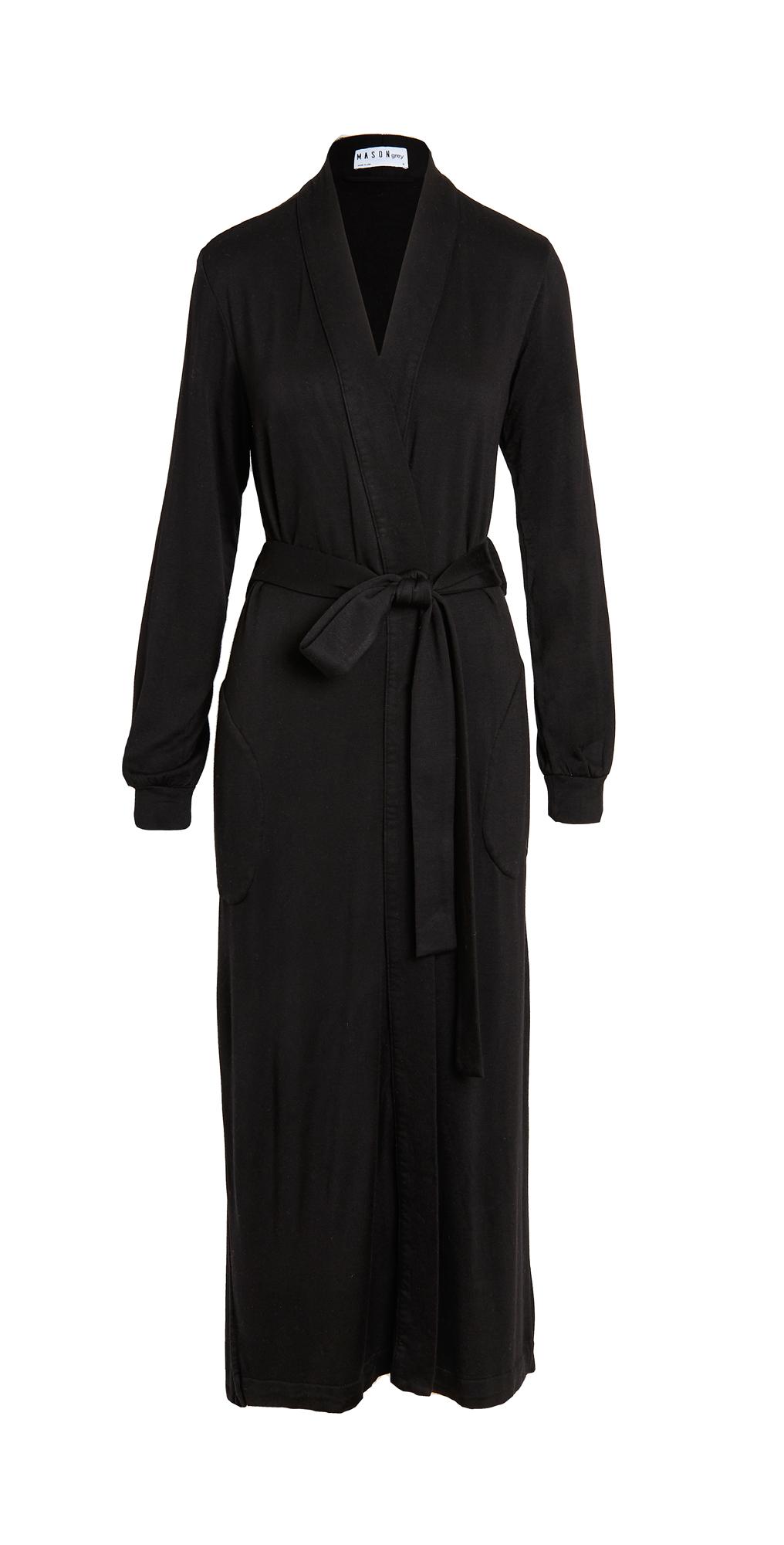 Banded Long Robe