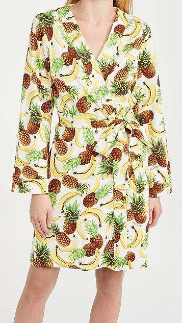 Mason Grey Tropical Smoothie Classic Short Robe